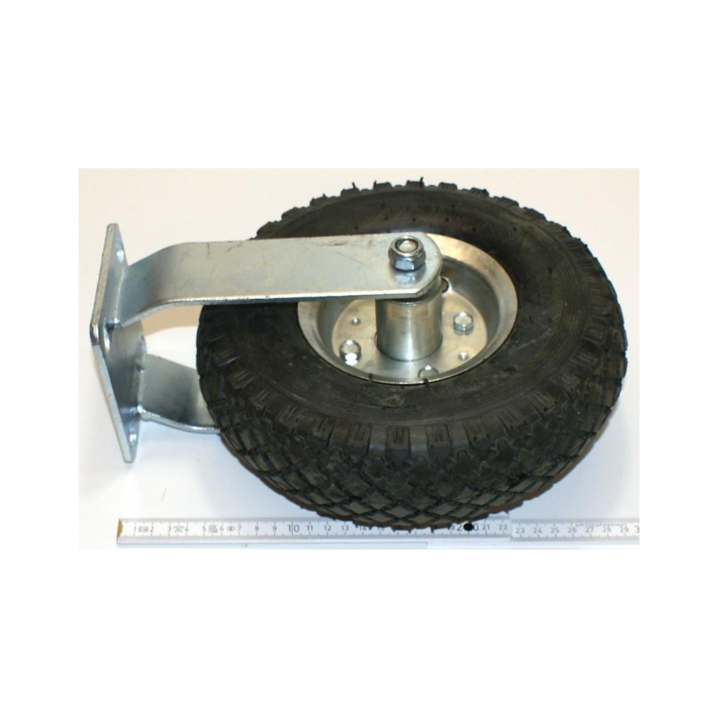 Rolle rad bockrolle transportrolle 260 mm 100 kg gummi luftgef llt stahlfelge r der und rollen - Burostuhl rollen gummi ...